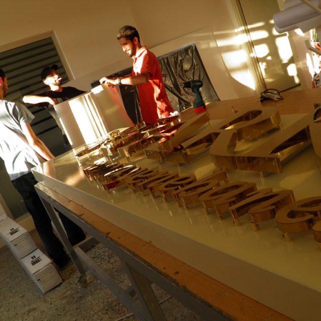 Krom Harf Tabela – ümraniye tabela