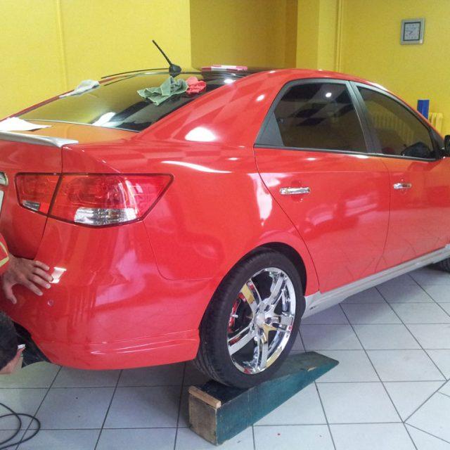 Araç Folyo Renk Değişim