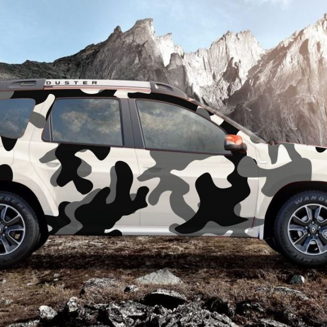 Araç Kamuflaj kaplama (camouflage)