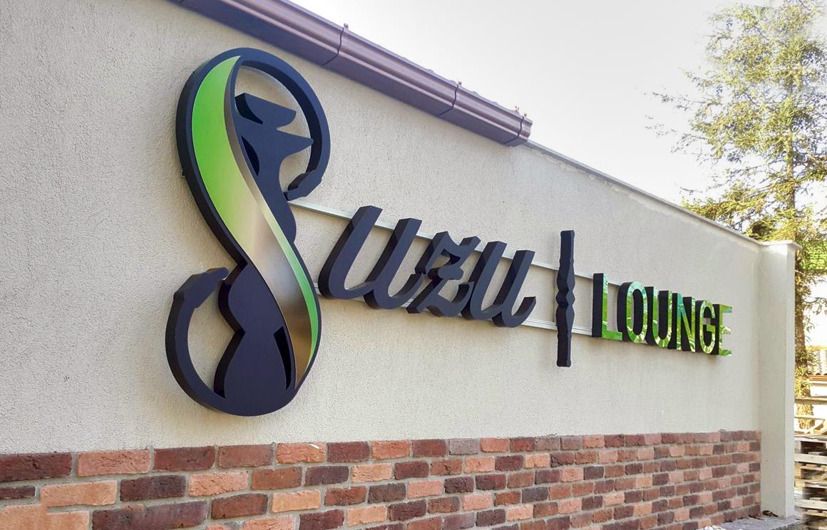 Kavacık Suzu Lounge Cafe Tabela Çalışmaları