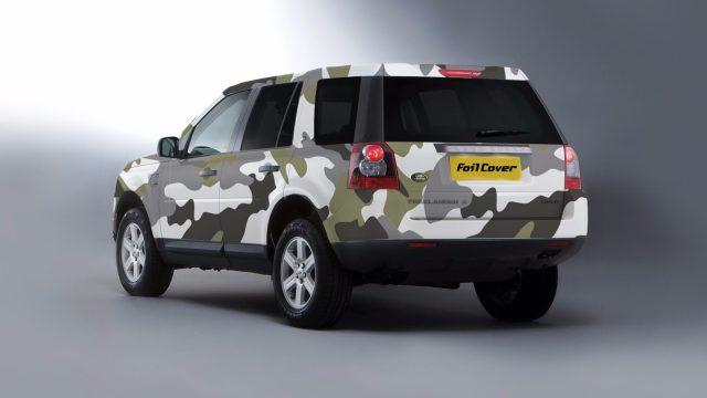 range rover kamuflaj folyo kaplama tasarımı (camouflage)