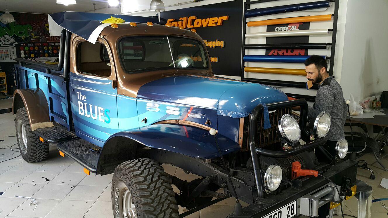 the blues araç kaplama