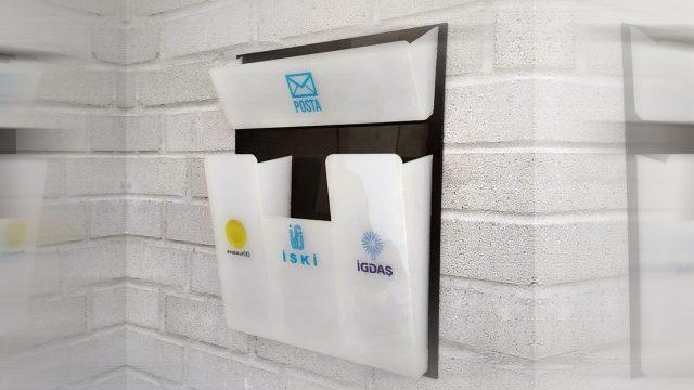 Apartman Faturalık ve Posta Kutusu 139₺ Türkiye'nin Heryerine KARGO BEDAVA Kampanya fiyatıdır ( Özel Tasarım )