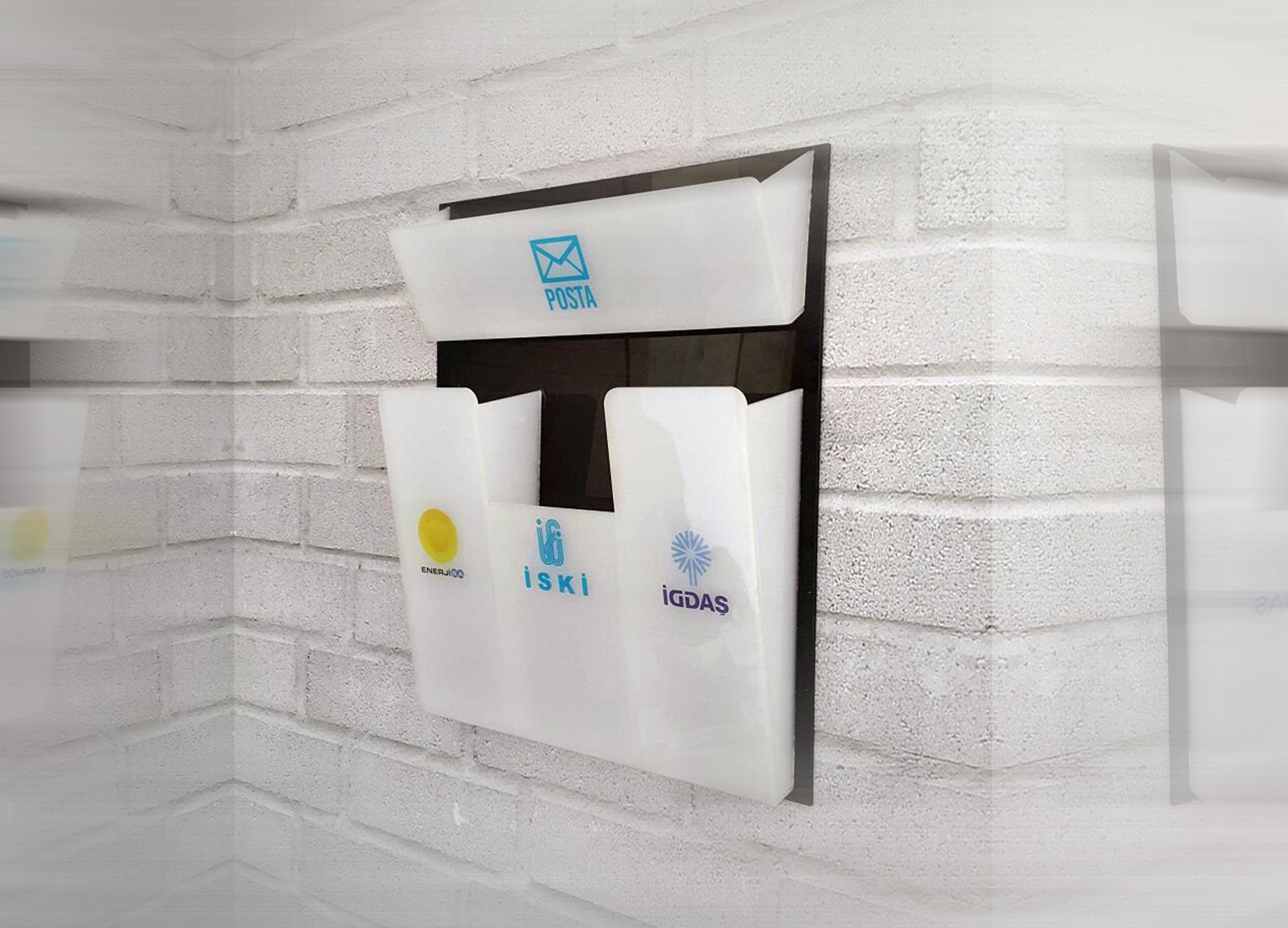 Apartman Faturalık ve Posta Kutusu 119₺ Türkiye'nin Heryerine KARGO BEDAVA Kampanya fiyatıdır ( Özel Tasarım )