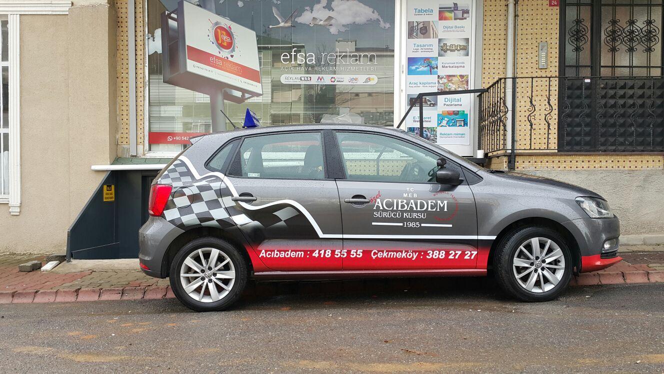 araç reklam kaplamaları örnek tasarımları