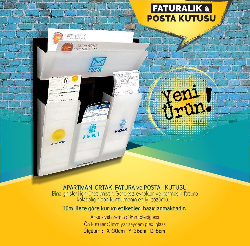 APARTMAN FATURA ve POSTA KUTUSU 159₺ Kampanya Türkiye'nin Heryerine KARGO BEDAVA 159₺ Kampanya