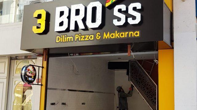 3 bross pizza Tabela çalışması kadıköy